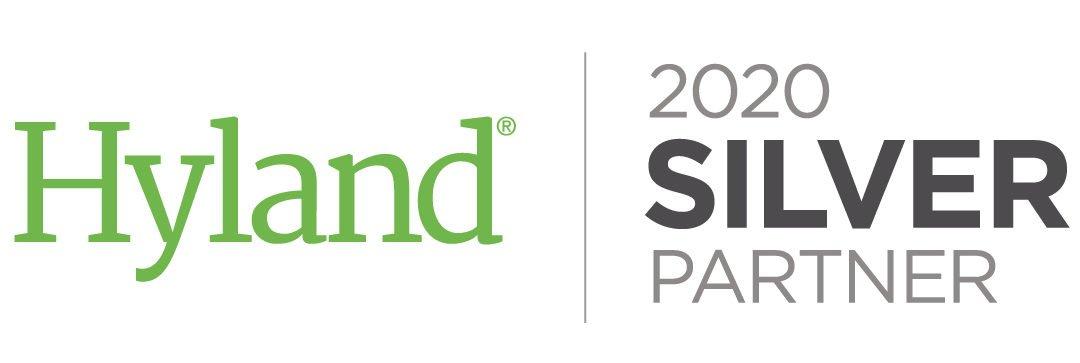 eebos wird 2020 erneut mit dem Hyland Partner Silver Award ausgezeichnet.